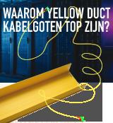 Waarom deze gele kabelgoten top zijn? Ze besparen je tijd én geld
