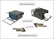 ODF 6U Sub Rack 864 fibers LC/UPC